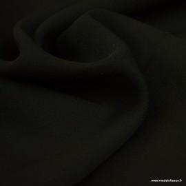 Tissu Crepe georgette Noir