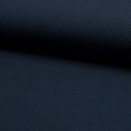 Tissu Bengaline motifs prince de Galle Bleu nuit