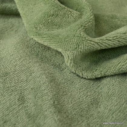 Tissu micro éponge de bambou Romarin - oeko tex