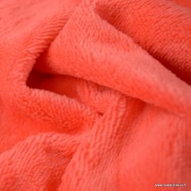 Tissu micro éponge de bambou Corail - oeko tex