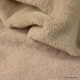 Tissu micro éponge de bambou Galet - oeko tex