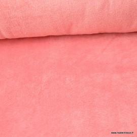 Tissu micro éponge de bambou Orchidée - oeko tex