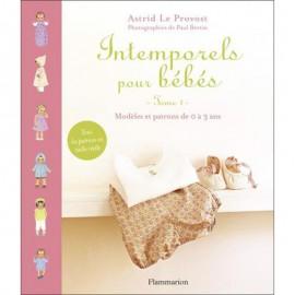 Livre Intemporels pour bébés - Astrid Le Provost