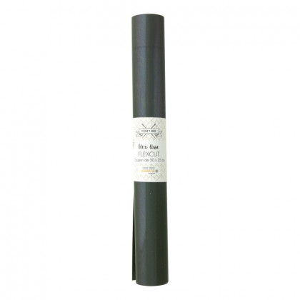 Flex Thermocollant - coupon 50 x 25 cm - Kaki