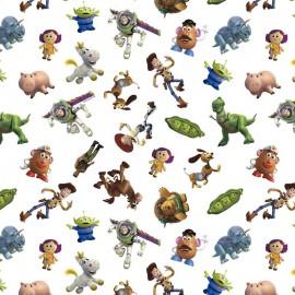 Tissu Cretonne coton Toy Story - oeko tex