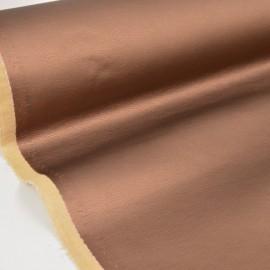 Tissu Simili cuir brillant coloris BRONZE