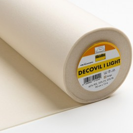 Entoilage thermocollant  Decovil I Light aspect cuir - Vlieseline