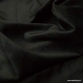 Tissu velours d'ameublement coloris Noir