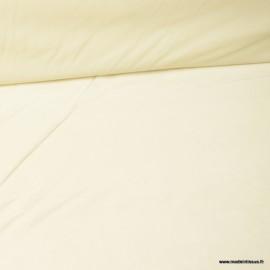 Tissu velours d'ameublement coloris Ivoire
