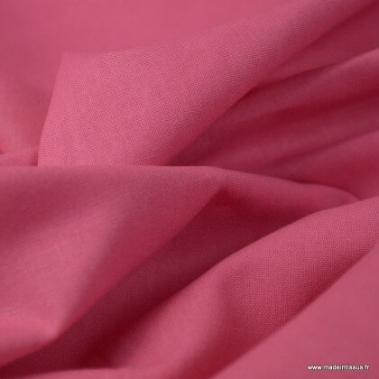 Tissu cretonne coton Orchidée - Oeko tex