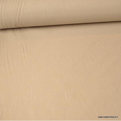 Tissu cretonne coton Galet - Oeko tex