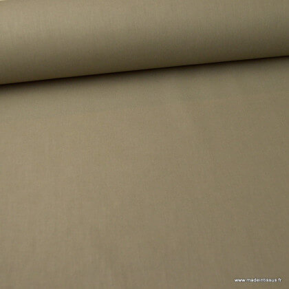 Tissu cretonne coton Gris Elephant - Oeko tex