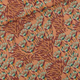 Tissu Viscose Rayon See you at Six Collection Gilly Flowers - oeko tex