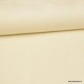 Tissu velours côtelé milleraies coton Ecru