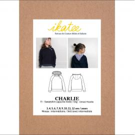 Patron Sweat Charlie by Ikatee pour enfant du 3 au 12 ans