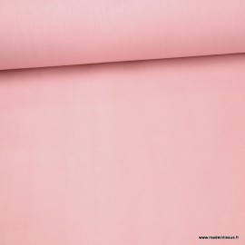Tissu cretonne coton Rose thé - Oeko tex