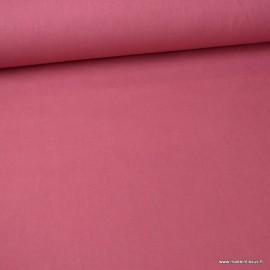 Tissu cretonne coton Framboise - Oeko tex