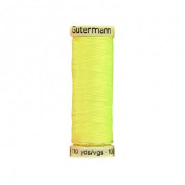 Bobine de Fil pour tout coudre Gutermann 100 m - N°3835 - Neon Jaune Fluo
