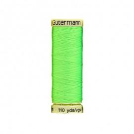 Bobine de Fil pour tout coudre Gutermann 100 m - N°3836 - Neon vert Fluo