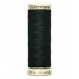 Bobine de Fil pour tout coudre Gutermann 100 m - N°707 - vert sapin