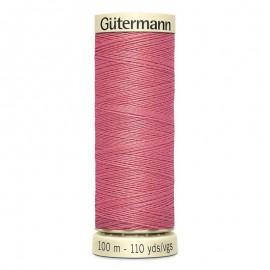 Bobine de Fil pour tout coudre Gutermann 100 m - N°984 Rose