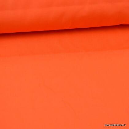 Tissu gabardine sergé coloris Orange
