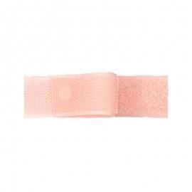 Velcro auto-agrippant 20mm male + femelle rose 0103