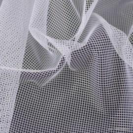 Tissu moustiquaire blanche en grande largeur