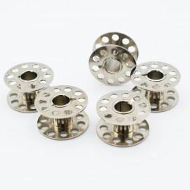 5 canettes Métal plates pour machine à coudre - 15K - Bohin