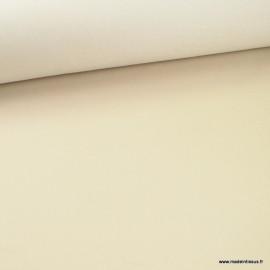Tissu chino sergé Stretch écru