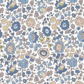 Tissu Liberty Danjo Bleu beige - Oeko tex
