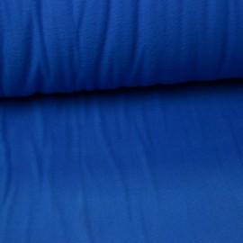 Tissu Micro polaire Bleu cat- oeko tex