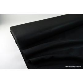 tissu feutrine noir polyester .