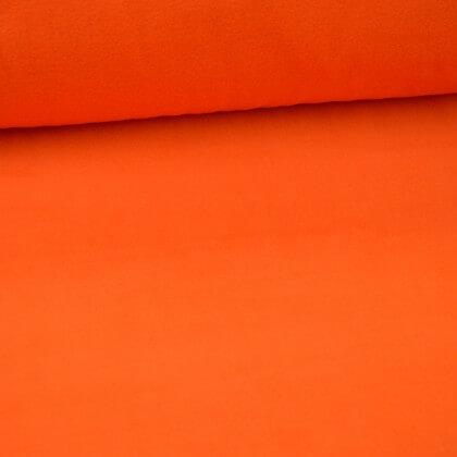 Tissu Micro polaire orangina - oeko tex