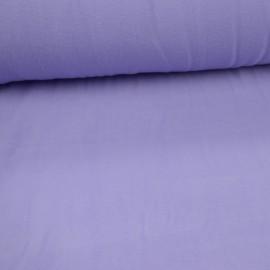 Tissu Micro polaire parme orage - oeko tex
