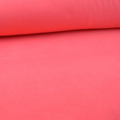 Tissu Micro polaire rose - oeko tex