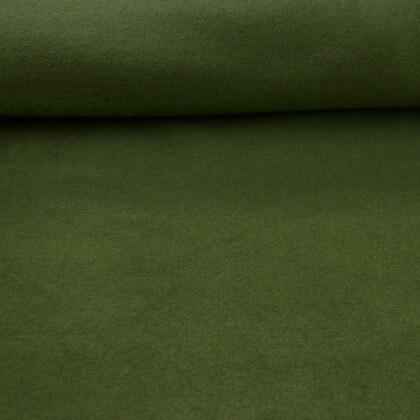 Tissu Polaire Made in France haut de gamme vert sapin