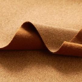 Tissu Liège naturel petits grains au mètre