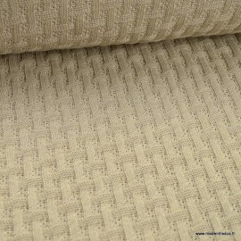 Maille tricot Albstoffe Sweet Home - Coloris Yemen- GOTS