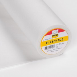 Entoilage thermocollant H250 Blanc - Vlieseline