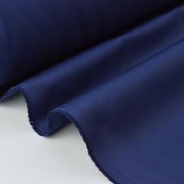 Tissu sergé coton lourd marine 300gr/m²