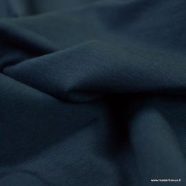 Tissu jersey Bio coloris Marine -  GOTS & Oeko tex