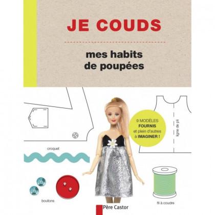 Livre Je couds mes habits de poupées Barbie - Père Castor