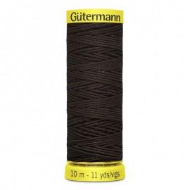 Fil Elastique Gutermann 10 m - N°4002 Chocolat