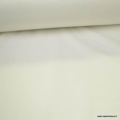 Tissu PUL Blanc naturel lavable à 60°