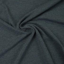 Tissu jersey chiné coloris Marine - oeko tex