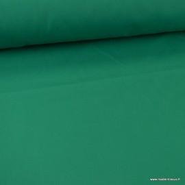 Tissu gabardine sergé coloris emeraude