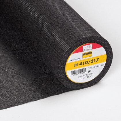 H 410 Vlieseline - Entoilage thermocollant gris