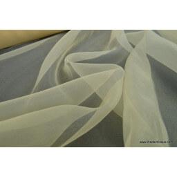Organza polyester champagne robe de mariée