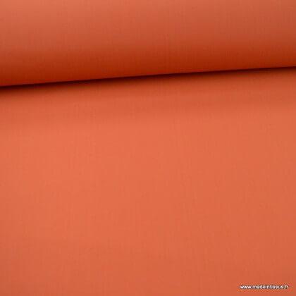 Tissu extérieur polypro terracotta